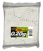 Tactical .20g Precision BBs (White) - 3,000 Round Bag