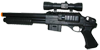 M47B2 Airsoft Pistol Grip Shotgun with Laser Scope