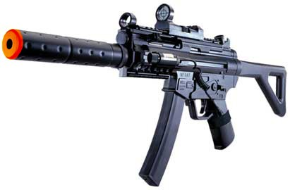 M5A7H Airsoft Rifle with Laser, Light and Scope