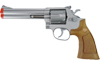 "UHC 934S Spring Airsoft Revolver - 6"" Barrel Silver"