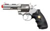 "UHC 937S Spring Airsoft Revolver - 4"" Barrel Silver"